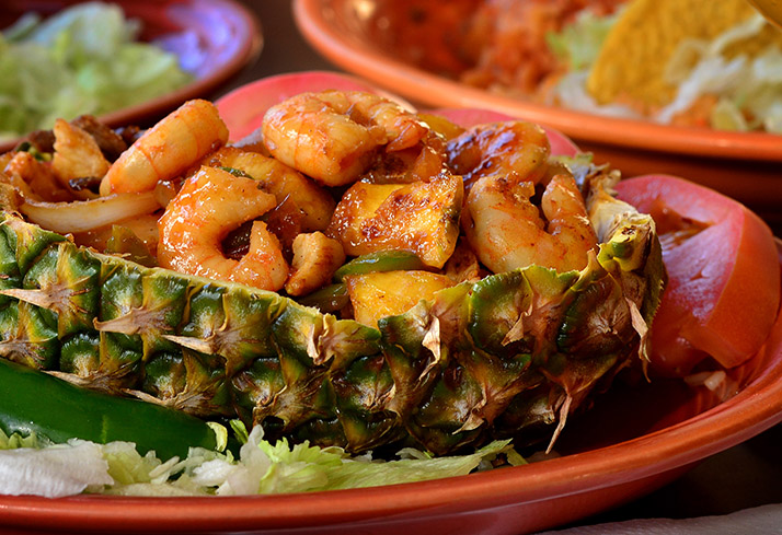 Rio Grande plates of food
